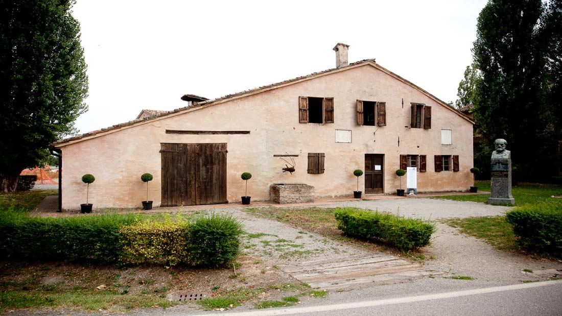 Roncole - Casa natale G. Verdi