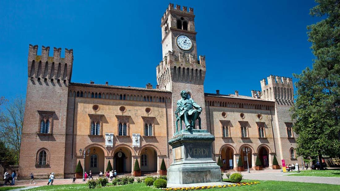 Busseto - Piazza G. Verdi