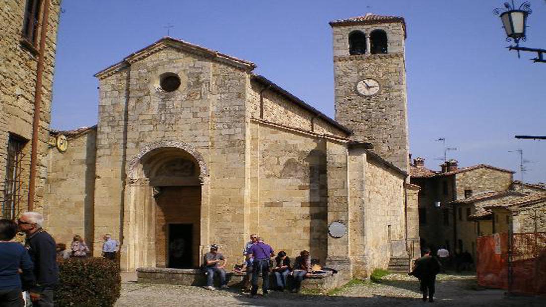 Borgo di Vigoleno - Chiesa