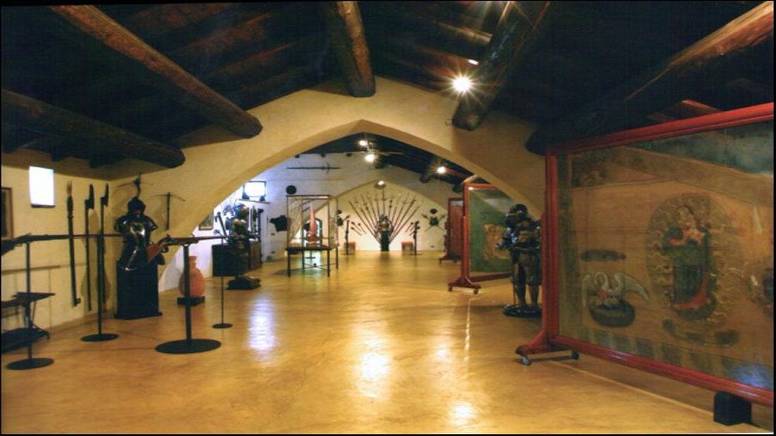 Castello di Rivalta museo armi